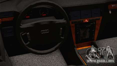 Audi A8 2000 para la visión correcta GTA San Andreas