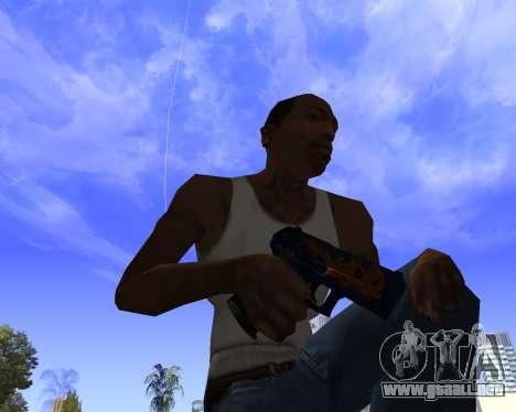 Skins Weapon pack CS:GO para GTA San Andreas séptima pantalla