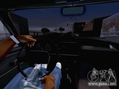 AZLK 2140 para la visión correcta GTA San Andreas