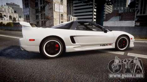 Honda NSX 1998 [EPM] nsx-r para GTA 4 left