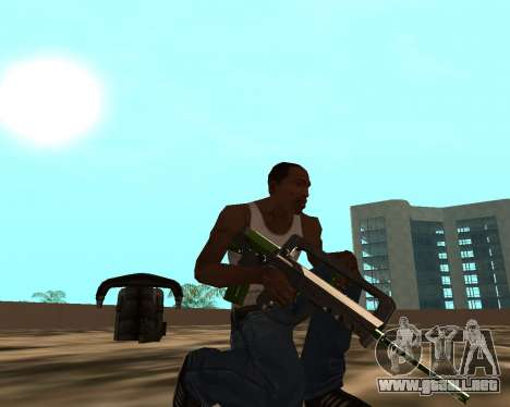 Sharks Weapon Pack para GTA San Andreas novena de pantalla
