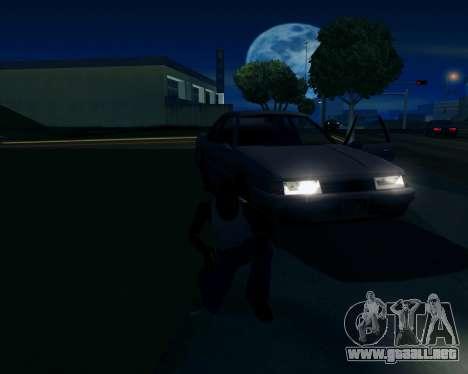 Real ENB Series para GTA San Andreas octavo de pantalla
