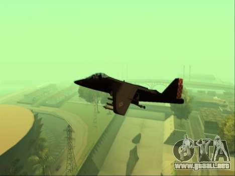McDonnell Douglas AV-8B Harrier II Beta para la visión correcta GTA San Andreas