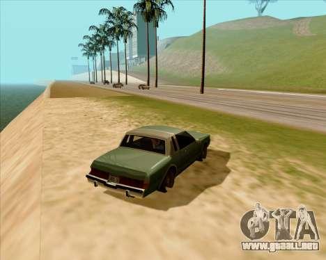 Real ENB Series para GTA San Andreas segunda pantalla
