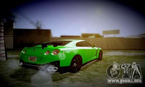 Blacks Med ENB para GTA San Andreas sucesivamente de pantalla