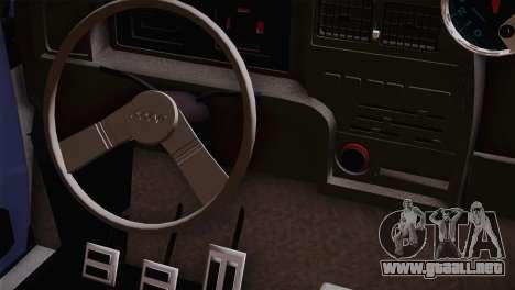 Fiat 147 Tuning para la visión correcta GTA San Andreas