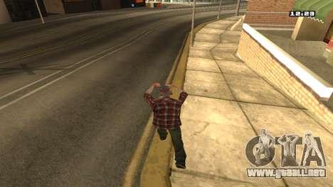 Mezclan estilos de lucha para GTA San Andreas tercera pantalla