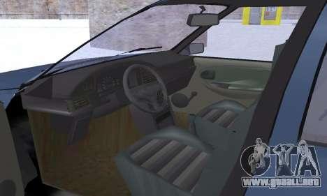 Dacia Super Nova para GTA San Andreas interior