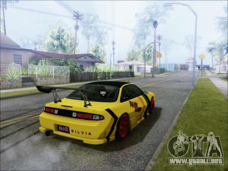 Nissan Silvia S14 FD para GTA San Andreas left