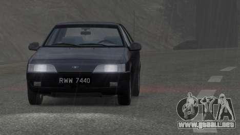 Daewoo Espero 2.0 CD 1996 para GTA 4 visión correcta