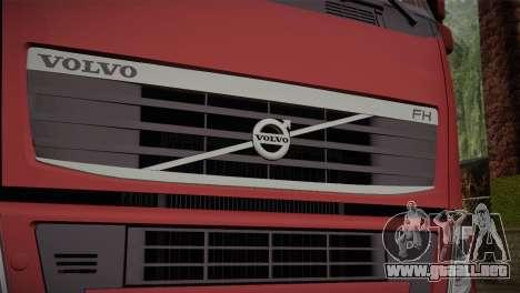 Volvo FH 420 para GTA San Andreas vista hacia atrás