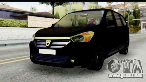 Dacia Lodgy para GTA San Andreas