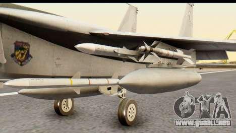F-15DJ Mitsubishi Heavy Industries para la visión correcta GTA San Andreas