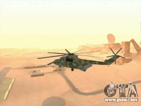 Mi 26 para visión interna GTA San Andreas