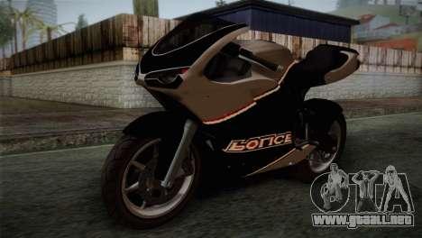 GTA 5 Bati Police para GTA San Andreas