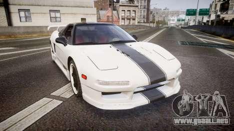 Honda NSX 1998 [EPM] nsx-r para GTA 4