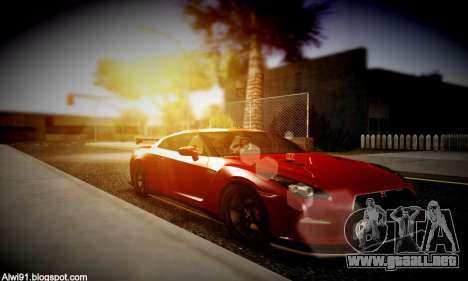 Blacks Med ENB para GTA San Andreas séptima pantalla