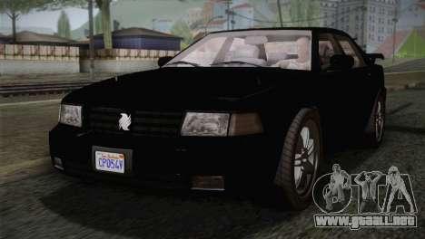 MP3 Fathom Lemanja LX IVF para GTA San Andreas