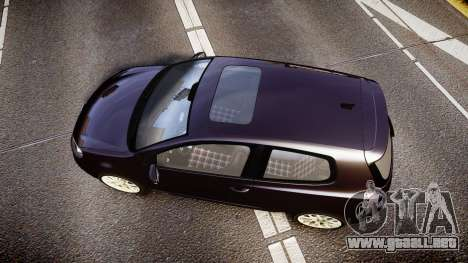 Volkswagen Golf Mk6 GTI rims2 para GTA 4 visión correcta