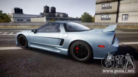 Honda NSX 1998 [EPM] para GTA 4 left