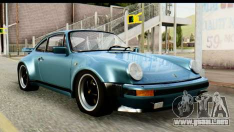 Porsche 911 Turbo 3.3L 1981 Tunable para GTA San Andreas