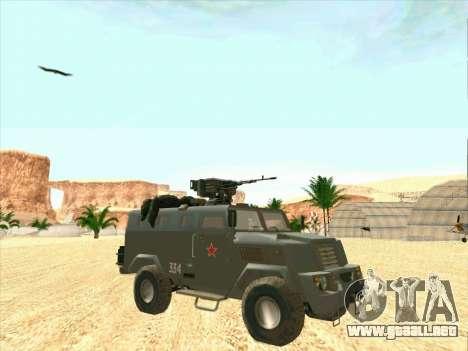 Blindados De Oso para GTA San Andreas vista hacia atrás