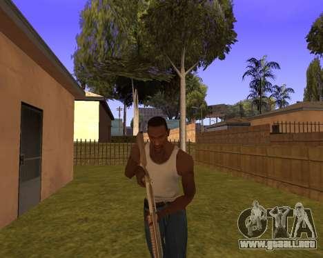 New Animation by EazyMo para GTA San Andreas quinta pantalla