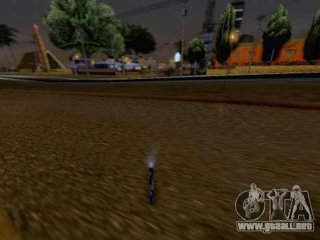 El Lanzamiento De Fuegos Artificiales para GTA San Andreas sucesivamente de pantalla