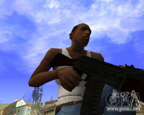 Skins Weapon pack CS:GO para GTA San Andreas novena de pantalla