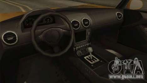 GTA 5 Coil Voltic v2 SA Mobile para GTA San Andreas vista hacia atrás
