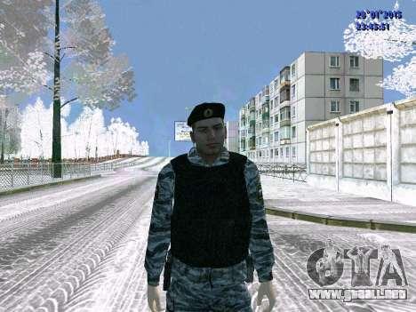 El OMON de combate para GTA San Andreas