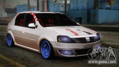 Dacia Logan Most Wanted Edition v3 para GTA San Andreas