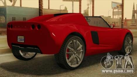 GTA 5 Coil Voltic v2 para GTA San Andreas left