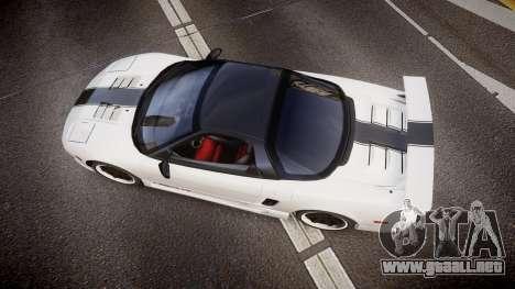 Honda NSX 1998 [EPM] nsx-r para GTA 4 visión correcta