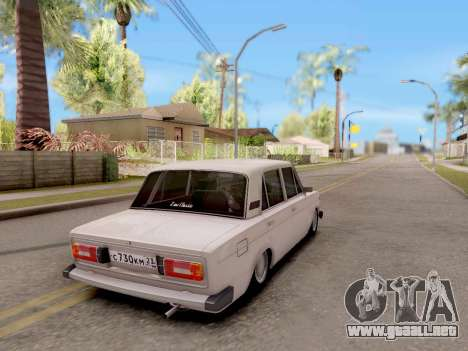 VAZ 2106 Clásico para GTA San Andreas left