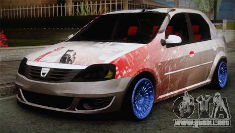 Dacia Logan Most Wanted Edition v2 para GTA San Andreas