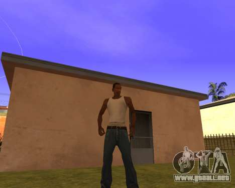 New Animation by EazyMo para GTA San Andreas segunda pantalla