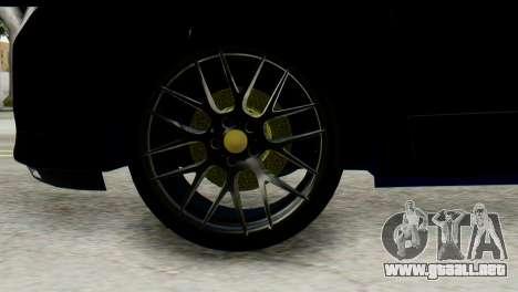 Dacia Lodgy para la visión correcta GTA San Andreas