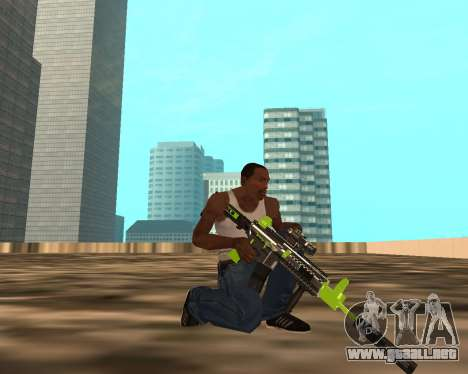 Sharks Weapon Pack para GTA San Andreas quinta pantalla