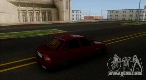 VAZ 2170 Caspio Carga para GTA San Andreas left