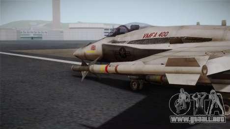 F-18 Hornet (Battlefield 2) para la visión correcta GTA San Andreas