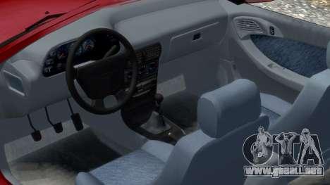 Daewoo Espero 2.0 CD 1996 para GTA 4 vista interior