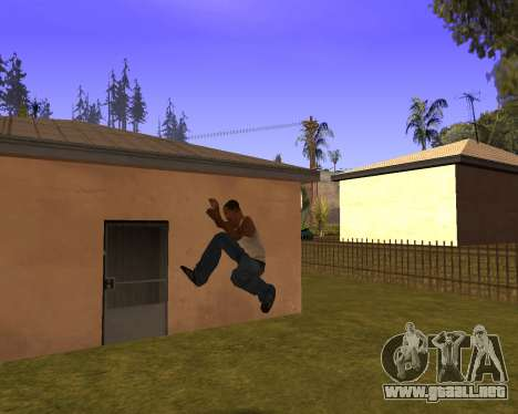 New Animation by EazyMo para GTA San Andreas sexta pantalla
