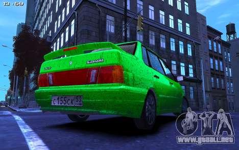 Lada 2115 para GTA 4 left