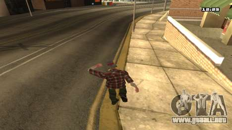 Mezclan estilos de lucha para GTA San Andreas segunda pantalla