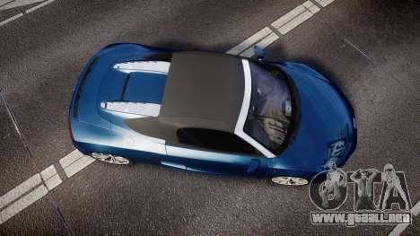 Audi R8 Spyder 2014 [EPM] para GTA 4 visión correcta