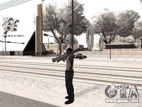 Colormod v5 para GTA San Andreas quinta pantalla