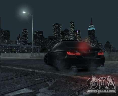 BMW M5 F10 2014 para GTA 4 left
