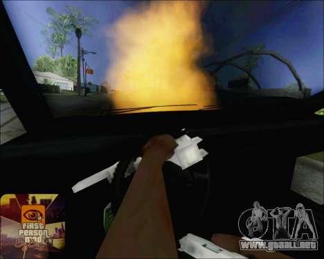 Montar en soplado de coches para GTA San Andreas tercera pantalla