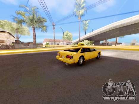 Alas de taxi para GTA San Andreas left
